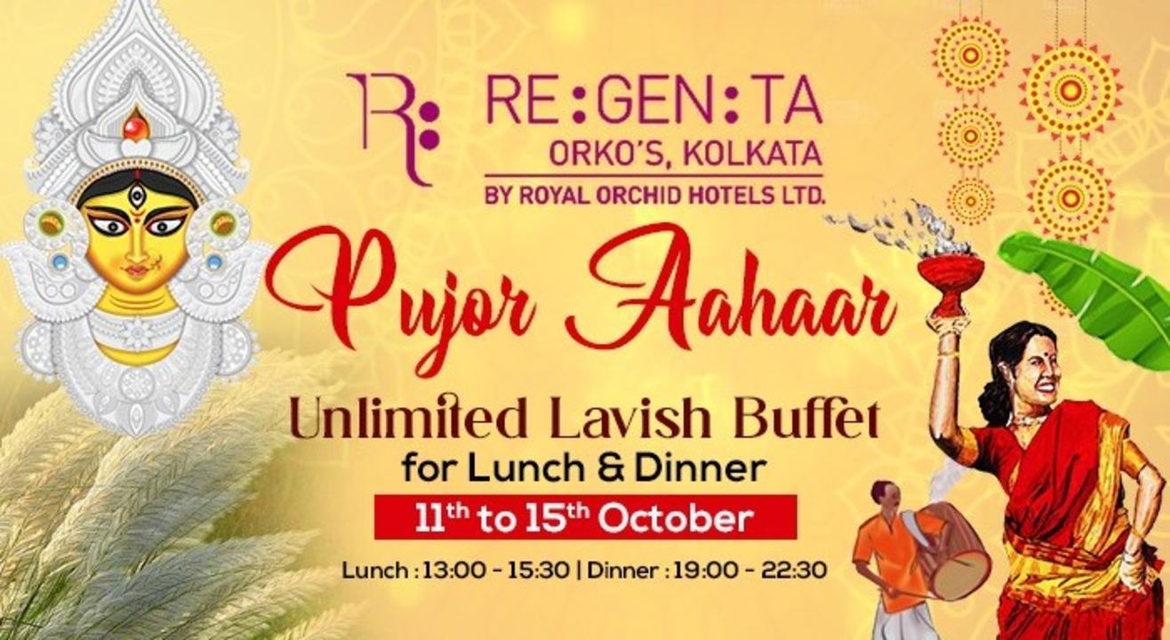 Pujor Aahaar at Regenta Orko's