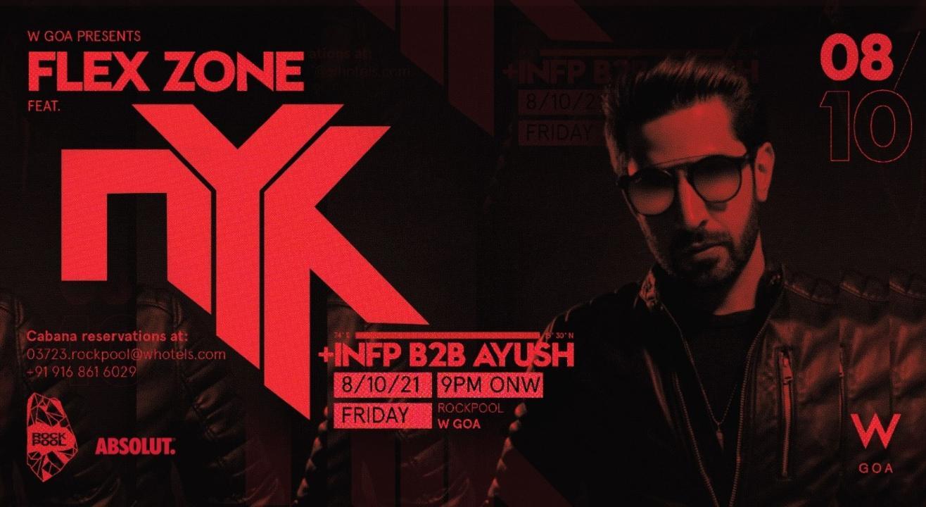 FLEX ZONE X DJ NYK