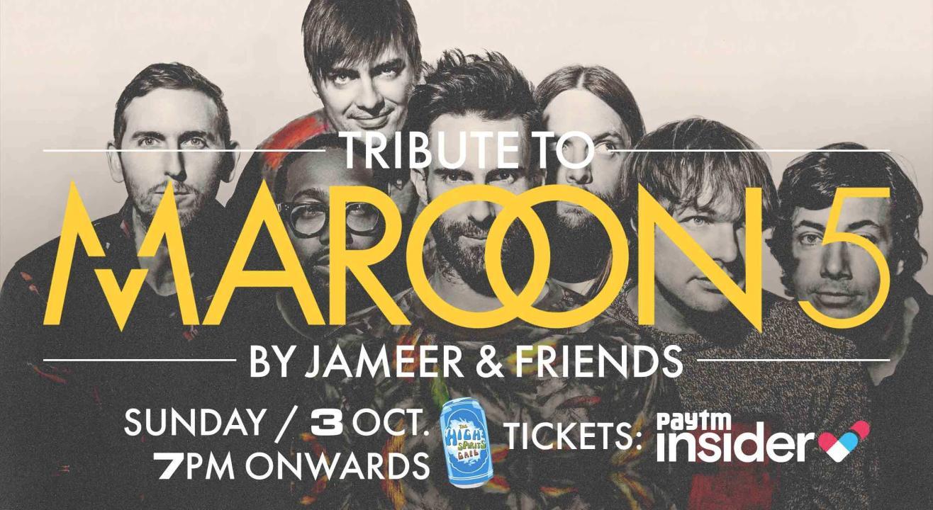 Tribute to Maroon 5 by Jameer & Friends