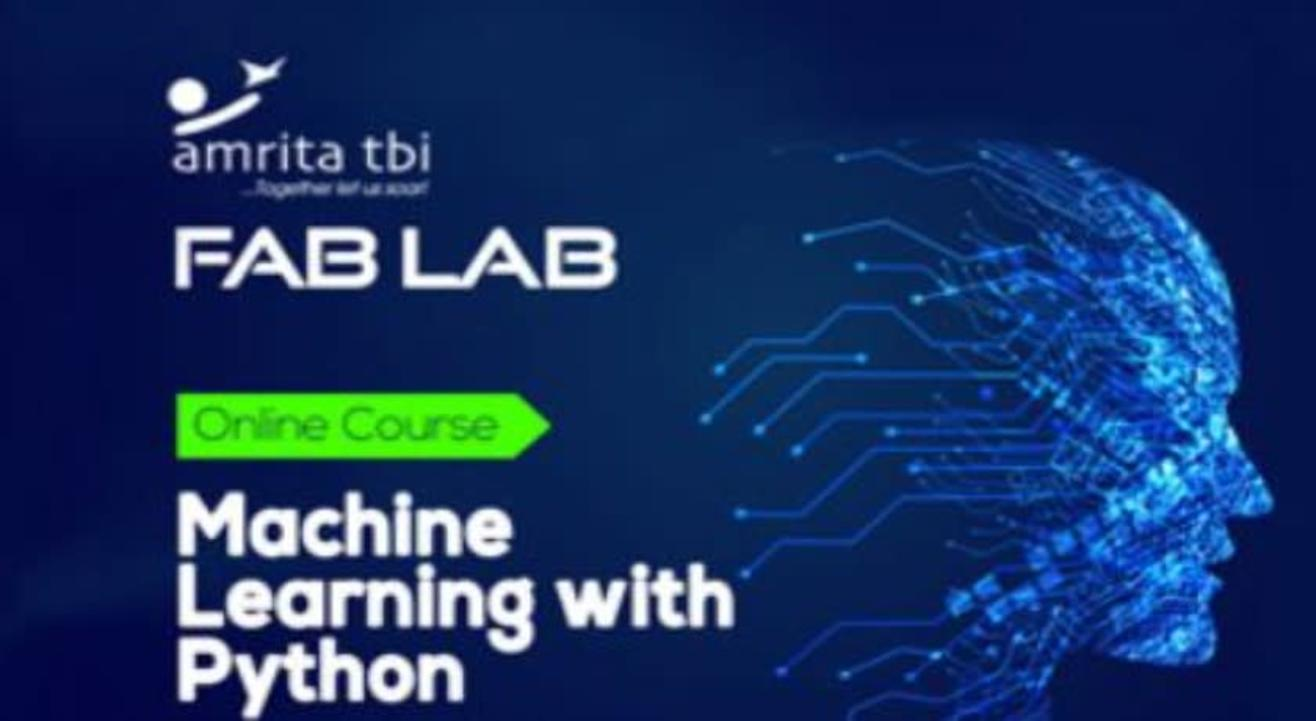 Online : Machine Learning Basic to Advance with Python