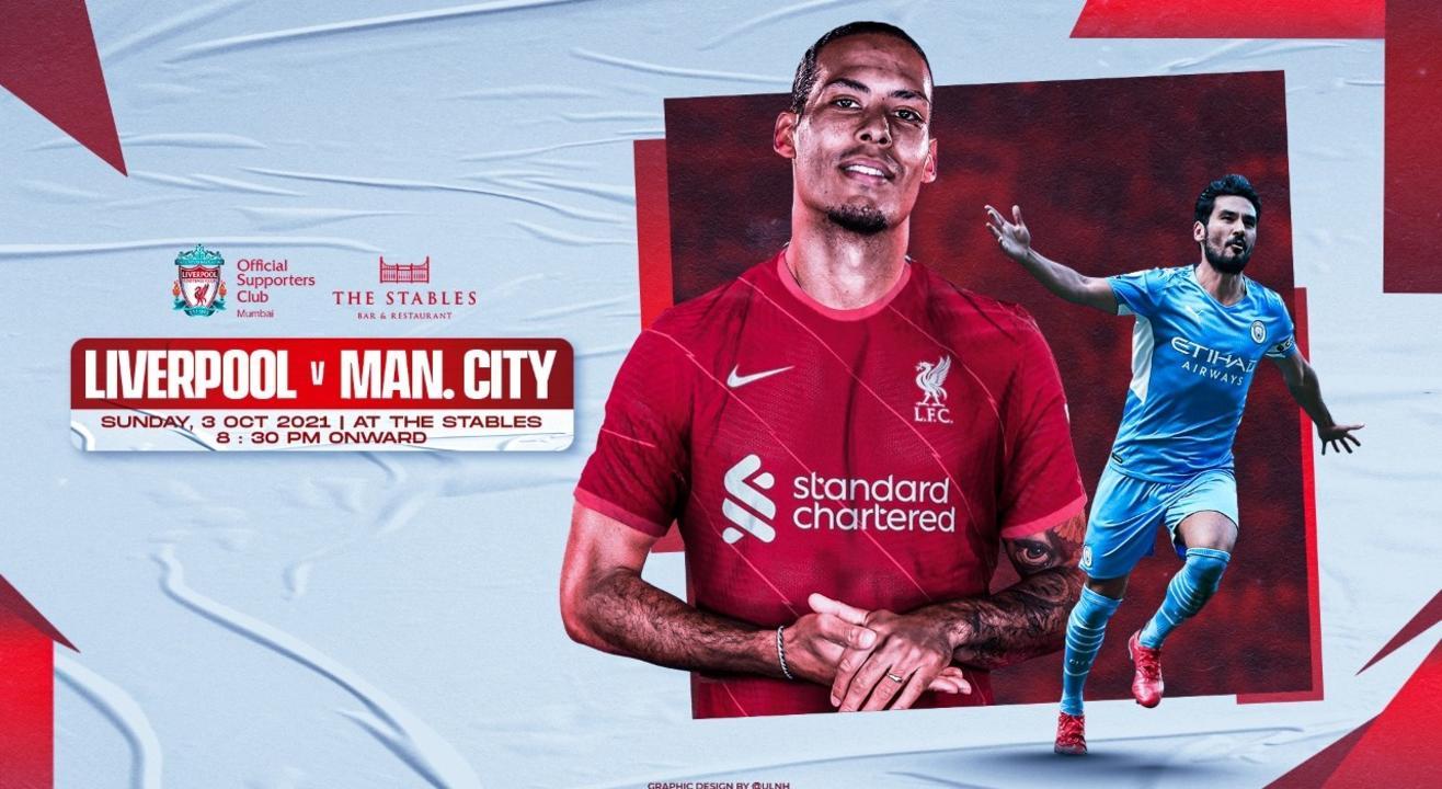 Liverpool vs ManCity | Live Screening