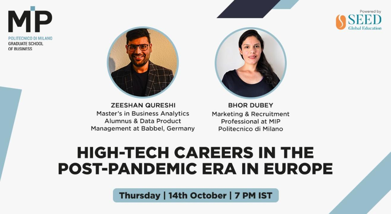 High-tech careers in the post-pandemic era in Europe