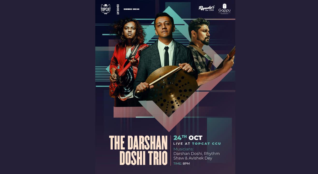 The Darshan Doshi Trio Live