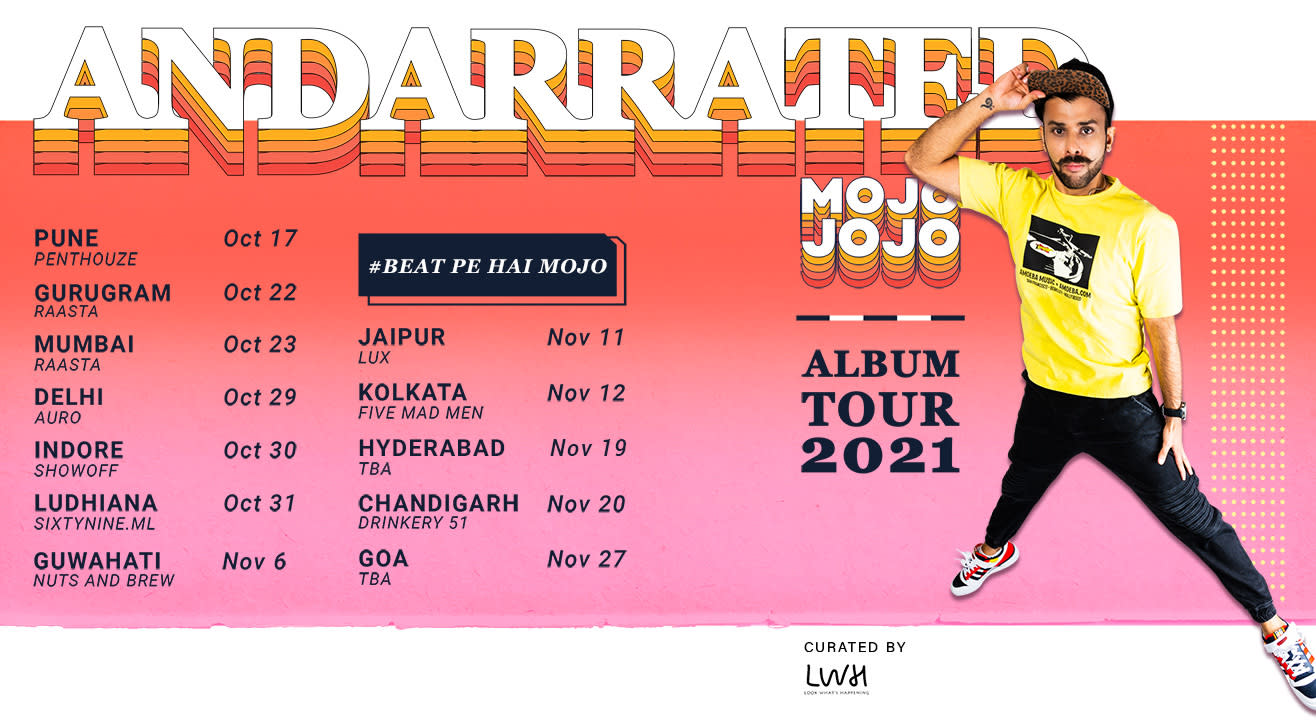 AndarRated Album Tour by MojoJojo