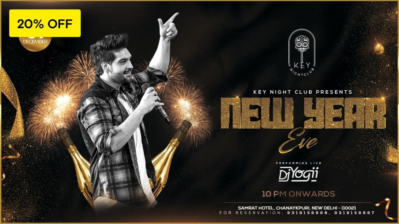 New Year Bash with DJ Yogii
