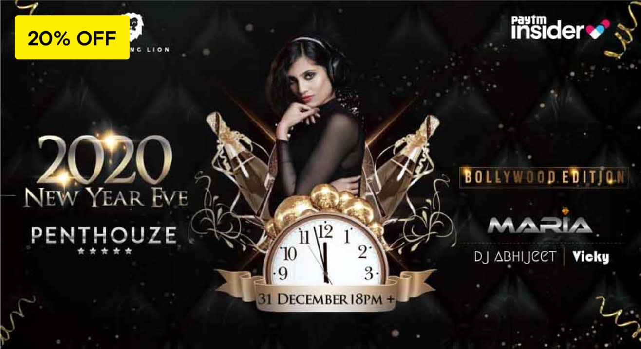 New Year Eve 2020 at Penthouze | B-Town Night 2.0