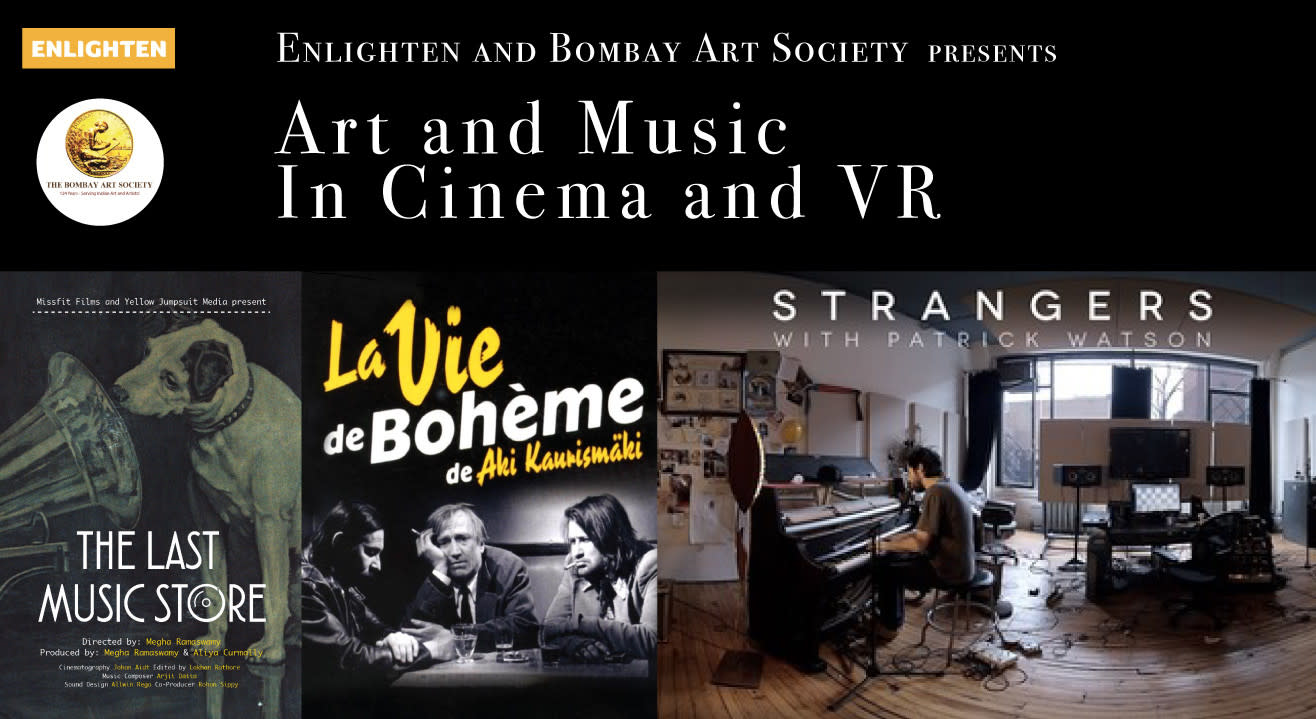 Art and Music - In Cinema and VR Presented by Enlighten and Bombay Art Society
