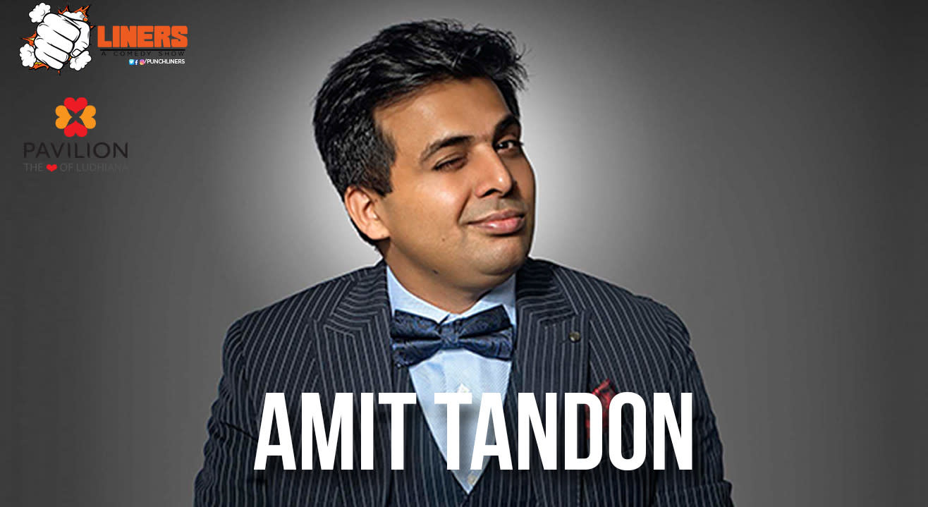 Punchliners presents Amit Tandon, Live