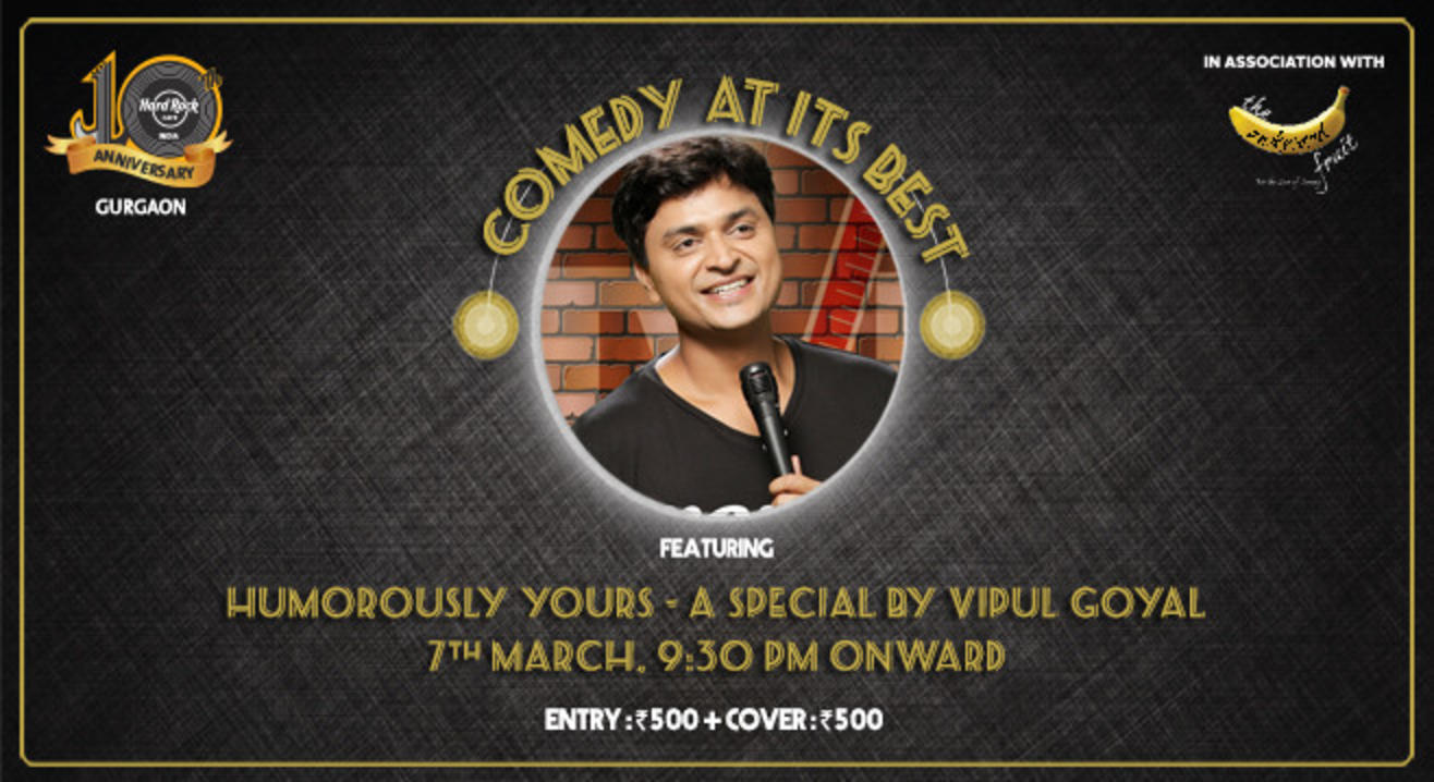 Humorously Yours - A Special By Vipul Goyal