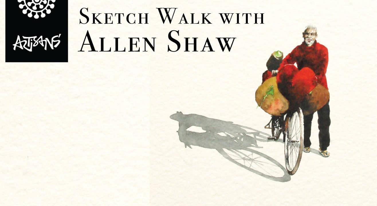 Sketch Walk With Allen Shaw
