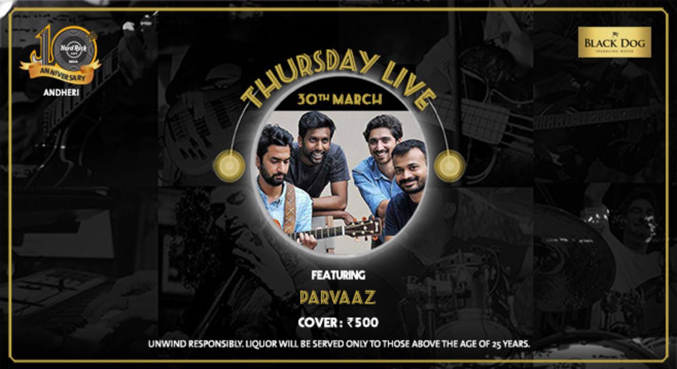 Parvaaz - Thursday Live!