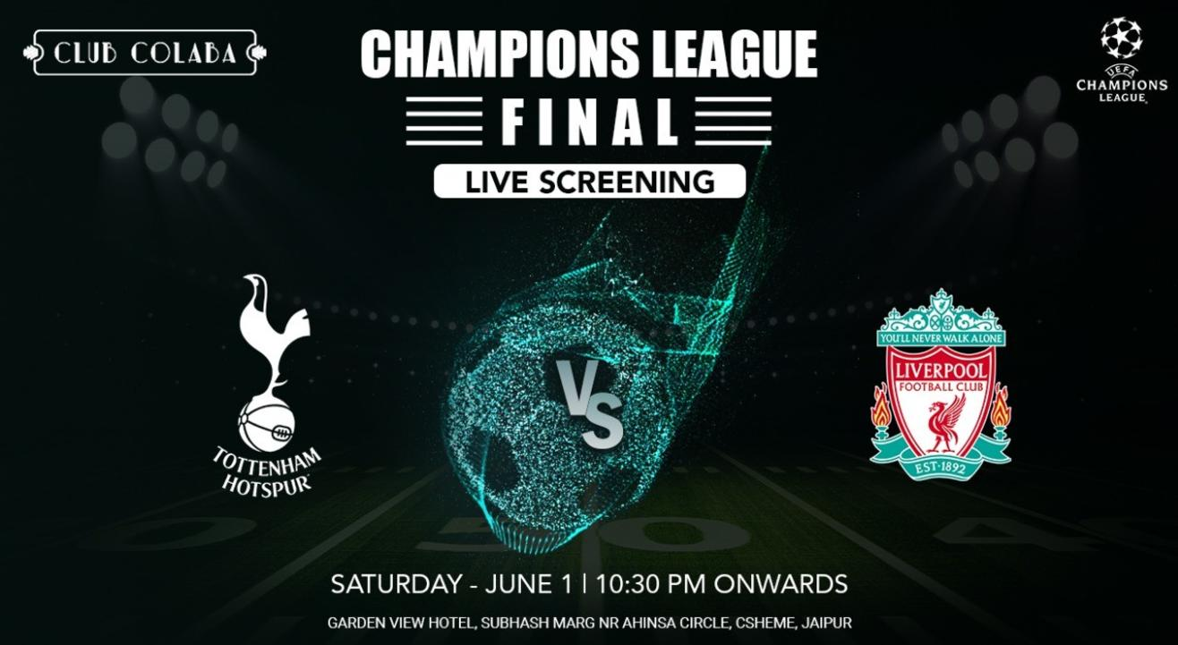 UEFA Champons league final Tottenham vs Liverpool