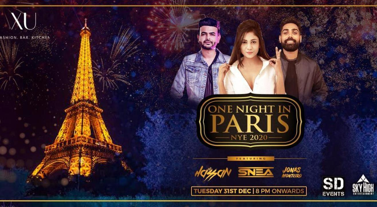 One Night in Paris NYE 2020
