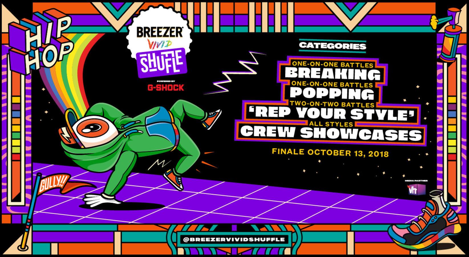 Breezer Vivid Shuffle 2018: India's Biggest Hip-Hop Dance Festival is Back!