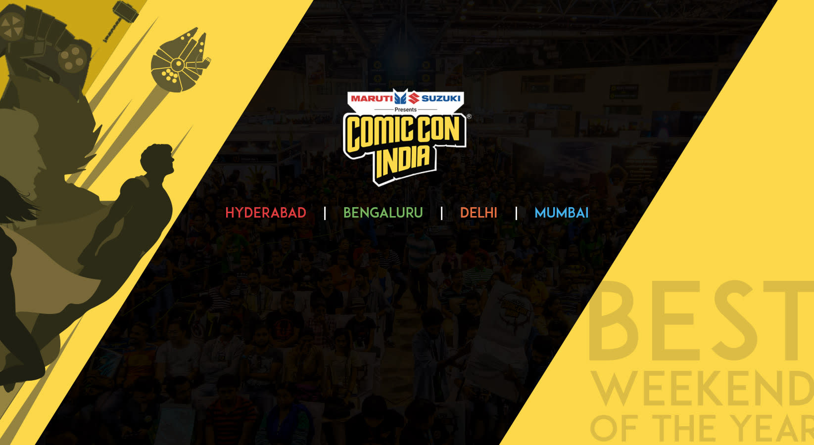 Comic Con India 2018: Hyderabad, Delhi, Bengaluru, Mumbai!