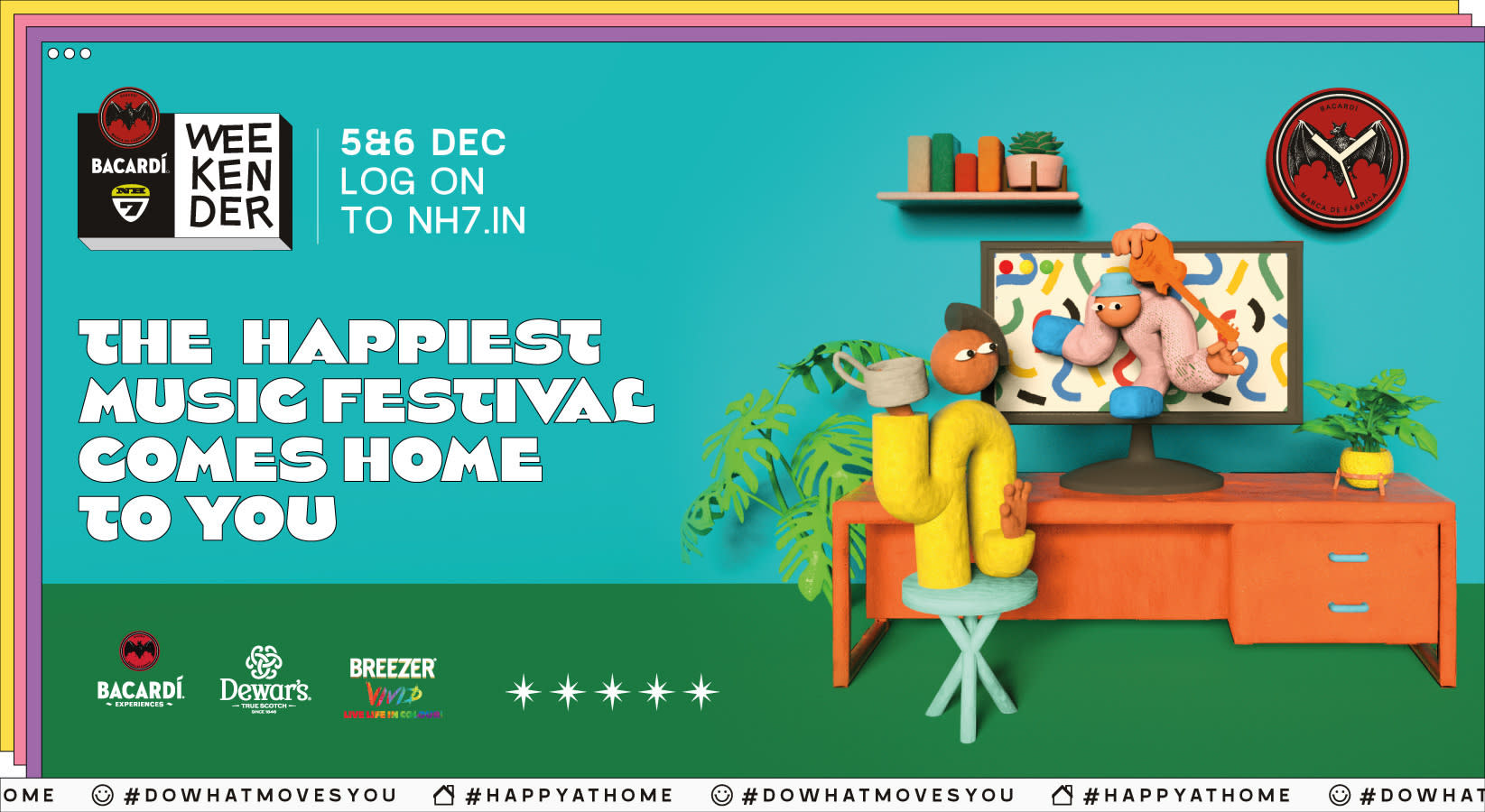 BACARDI NH7 Weekender comes home to you in December!