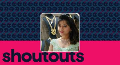 Request a shoutout by Lahari V