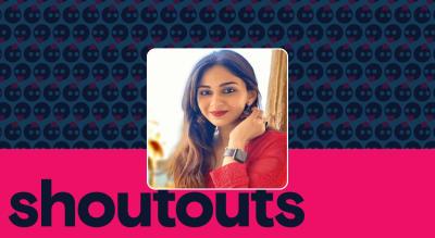 Request a shoutout by Vidhi Pandya
