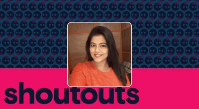 Request a shoutout for Sneha Raikar