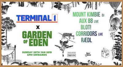Terminal 1 x Garden of Eden presents Mount Kimbie (DJ Set)