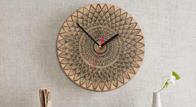 DIY Mandala Wall Clock Workshop