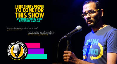 A Stand Up Comedy Show by Raghav Mandava