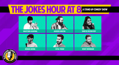 The Jokes Hour at 8 - A Stand Up Comedy Show