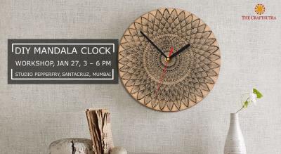 DIY Mandala Clock Workshop