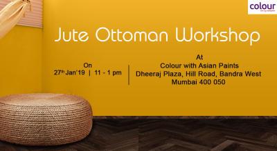 Jute Ottoman Workshop