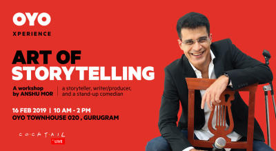 Art of Storytelling – a Workshop by Anshu Mor
