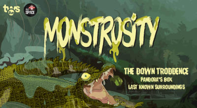 Monstrosity ft The Down Troddence LIVE in Hyderabad