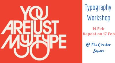A Typography workshop - Valentine's week special
