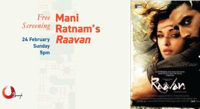 Free Screening: Mani Ratnam's Raavan