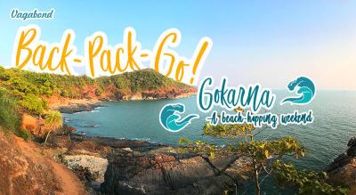 Back-Pack-Go! (Gokarna: A beach hopping weekend)
