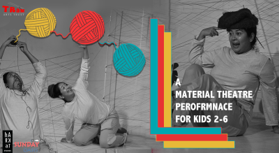 OOOL - A Material Theatre Performance for Toddlers + young kids