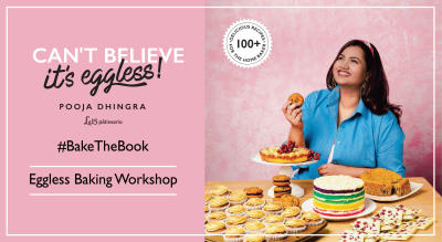 Bake the Book Workshop with Chef Pooja Dhingra