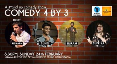 Comedy 4 by 3 ft. Supriya, Sriram and Mohd Suhel