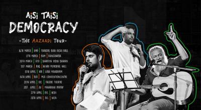 Aisi Taisi Democracy : The Aazaadi Tour 2019, Mumbai