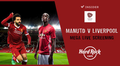 Manchester United v Liverpool | Mega Live Screening Delhi