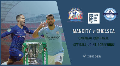 Mancity v Chelsea | Cup Final Official Joint Screening