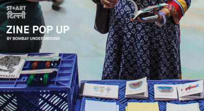 Zine Pop up with Bombay Underground