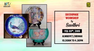 Decoupage Workshop By Savithri