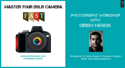Master your DSLR Camera F.A.S.T