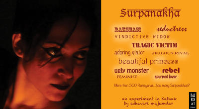 Surpanakha – A Kathak and Visual Arts Performance