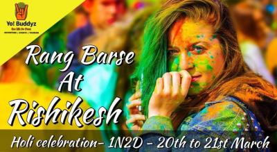 Rang Barse At Rishikesh - Holi Celebration