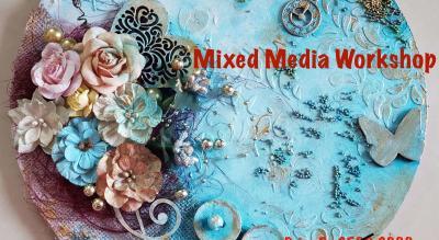 Mixed Media Workshop -ART BUZZAAR 2019
