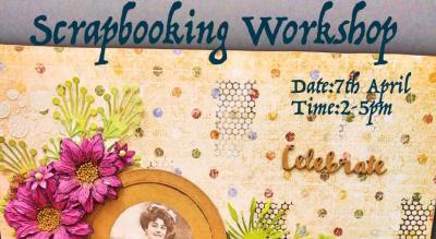 Scrapbooking Workshop - ART BUZZAAR 2019