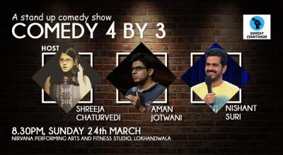 Comedy 4 by 3 ft. Aman Jotwani and Nishant Suri