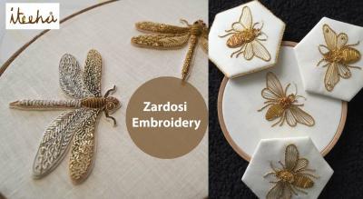 Zardosi Embroidery Workshop