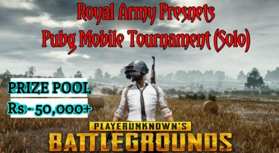 Pubg Mobile Tournament (Solo)
